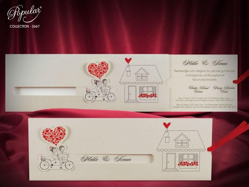 Invitatie de nunta 2667. Poza 6236