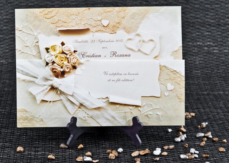 Invitatie de nunta 1072. Poza 6744