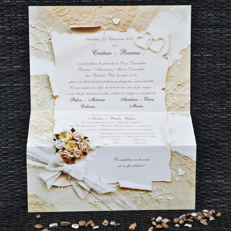 Invitatie de nunta 1072. Poza 6745
