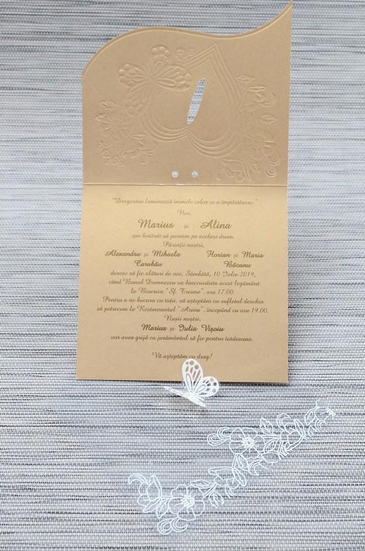 Invitatie de nunta 1116. Poza 6761