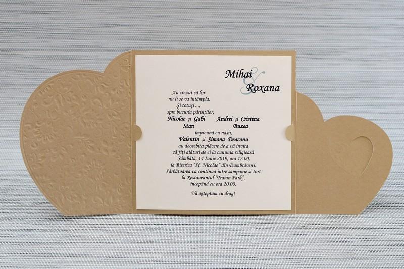 Invitatie de nunta 1117. Poza 6773