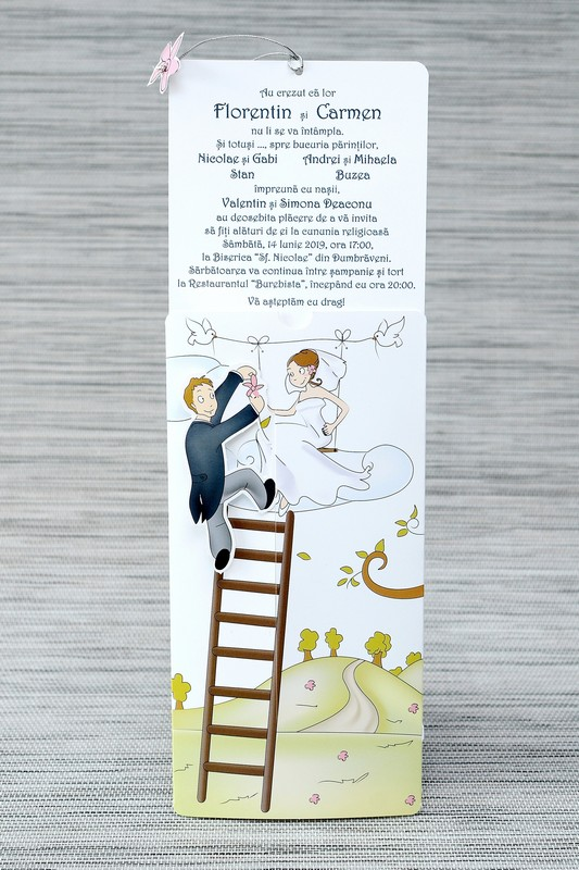 Invitatie de nunta 1119. Poza 6782