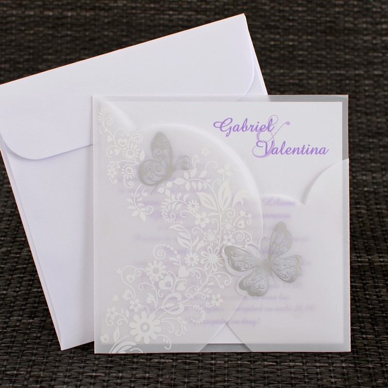 Invitatie de nunta 1122. Poza 6797
