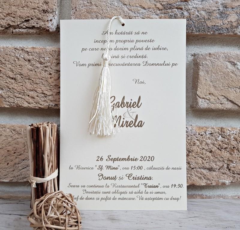 Invitatie de nunta 2734. Poza 8043