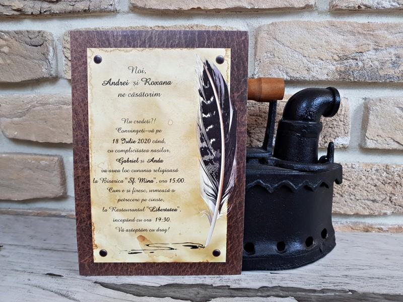 Invitatie de nunta 2740. Poza 8066