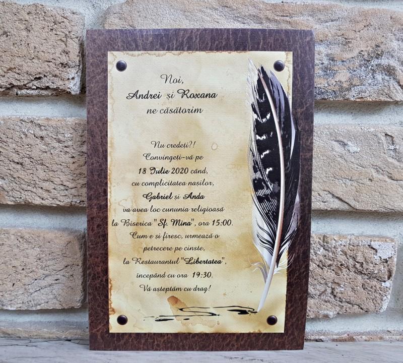 Invitatie de nunta 2740. Poza 8067