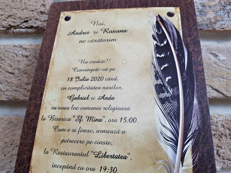 Invitatie de nunta 2740. Poza 8069