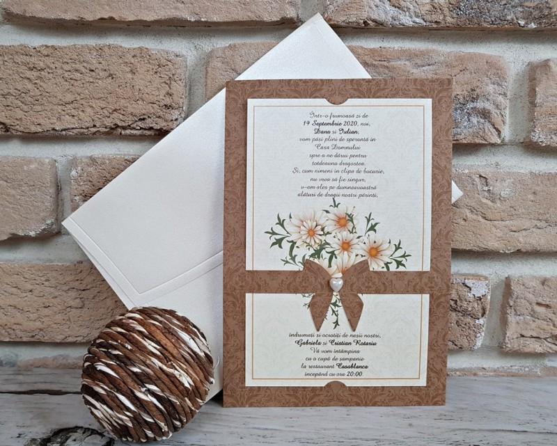 Invitatie de nunta 2763. Poza 8173