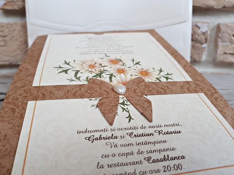Invitatie de nunta 2763. Poza 8175