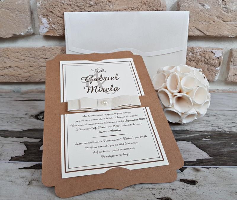 Invitatie de nunta 2764. Poza 8180