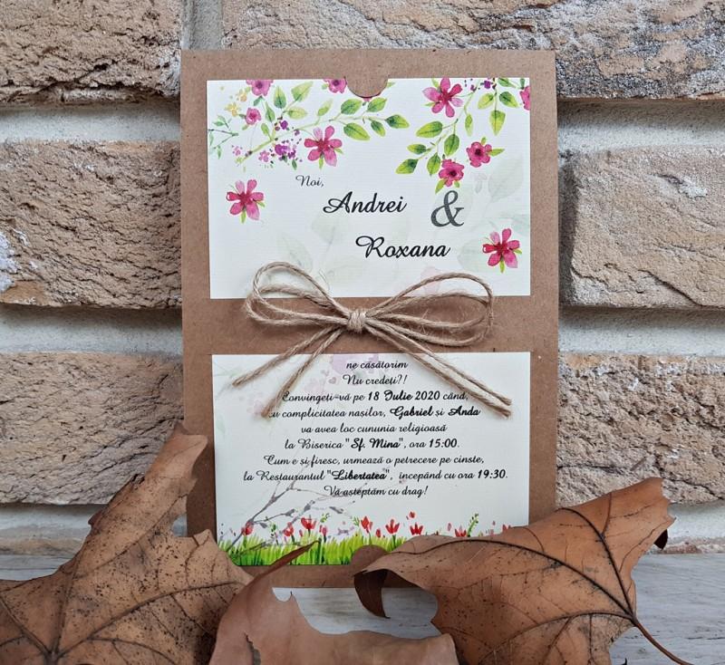 Invitatie de nunta 2766. Poza 8185