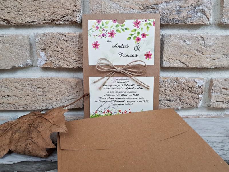 Invitatie de nunta 2766. Poza 8186