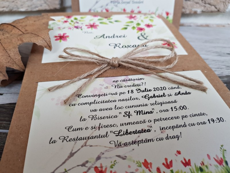 Invitatie de nunta 2766. Poza 8187