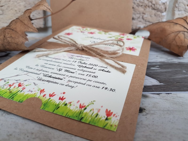 Invitatie de nunta 2766. Poza 8189