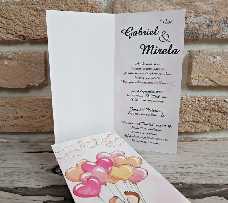 Invitatie de nunta 2769. Poza 8202