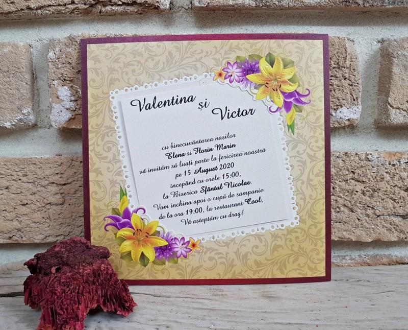 Invitatie de nunta 2774. Poza 8222
