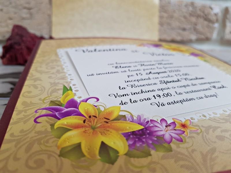 Invitatie de nunta 2774. Poza 8224