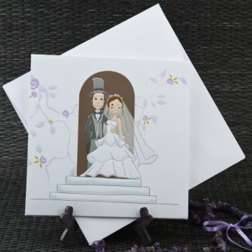 poza Invitatie de nunta 1054