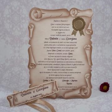 poza Invitatie banchet 1086