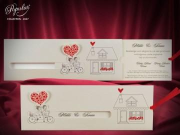 Poza Invitatie de nunta 2667. Poza 6236