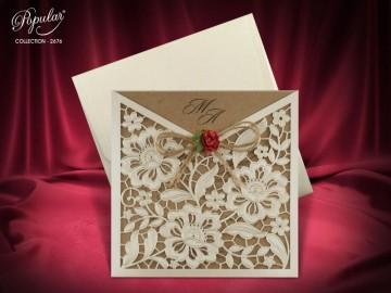 Poza Invitatie de nunta 2676. Poza 6250