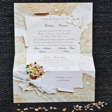 Poza Invitatie de nunta 1072. Poza 6745