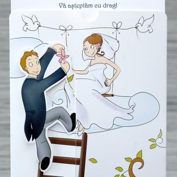 Poza Invitatie de nunta 1119. Poza 6781