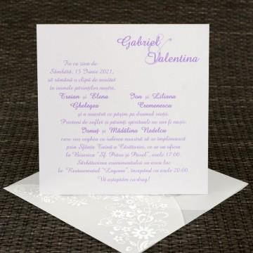 Poza Invitatie de nunta 1122. Poza 6800