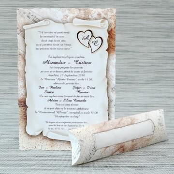 poza Invitatie de nunta 1145