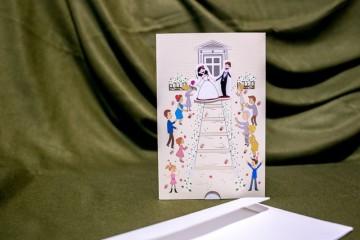 poza Invitatie de nunta 5017