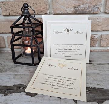 Poza Invitatie de nunta 2541. Poza 8030