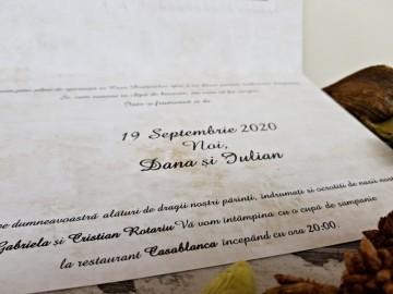 Poza Invitatie de nunta 2737. Poza 8056