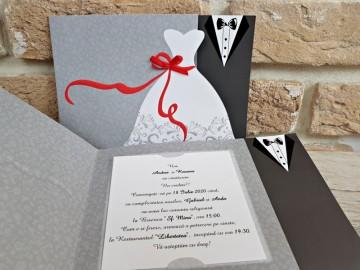 Poza Invitatie de nunta 2739. Poza 8065