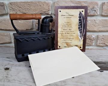 Poza Invitatie de nunta 2740. Poza 8068