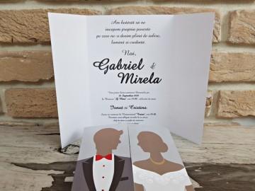 Poza Invitatie de nunta 2742. Poza 8076