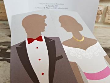 Poza Invitatie de nunta 2742. Poza 8078