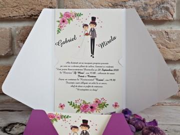 Poza Invitatie de nunta 2752. Poza 8125
