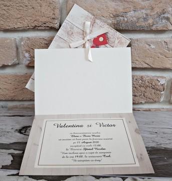 Poza Invitatie de nunta 2755. Poza 8140