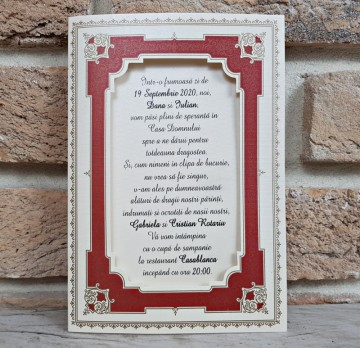 poza Invitatie de nunta 2756