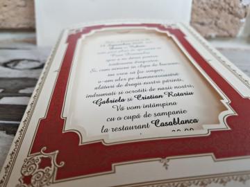 Poza Invitatie de nunta 2756. Poza 8144