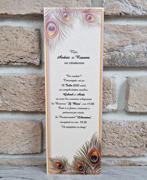 Poza Invitatie de nunta 2757. Poza 8148