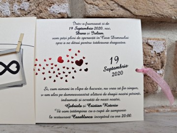 Poza Invitatie de nunta 2761. Poza 8165