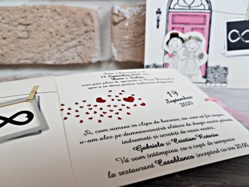 Poza Invitatie de nunta 2761. Poza 8166