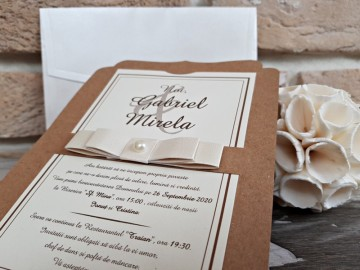 Poza Invitatie de nunta 2764. Poza 8179