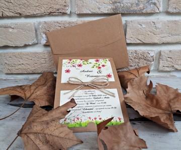 Poza Invitatie de nunta 2766. Poza 8188