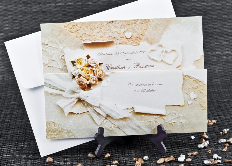 Invitatie de nunta 1072. Poza 6743