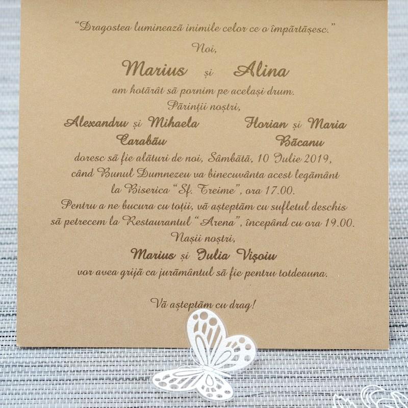 Invitatie de nunta 1116. Poza 6764