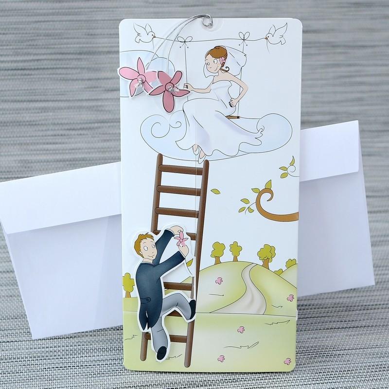 Invitatie de nunta 1119. Poza 6779