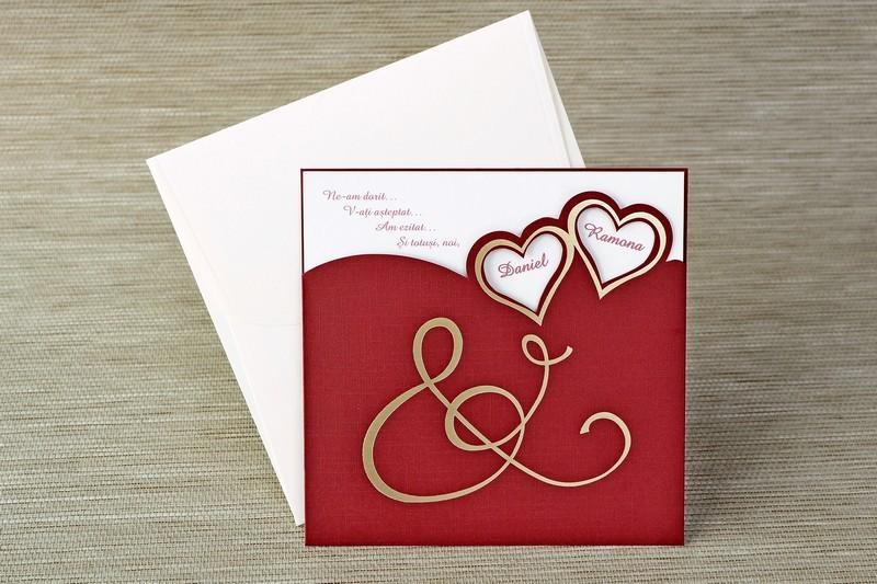 Invitatie de nunta 1129. Poza 6823