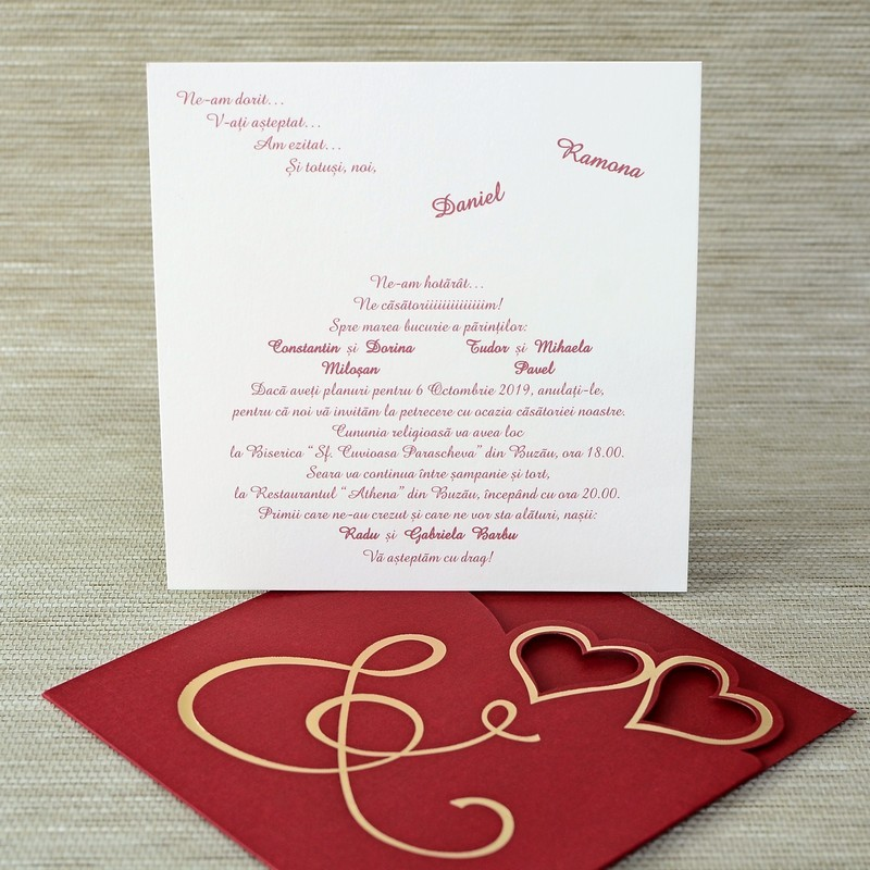 Invitatie de nunta 1129. Poza 6826